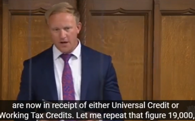 Campaign against cuts to Universal Credit
