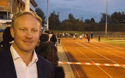 Ilford Athletics Club visit