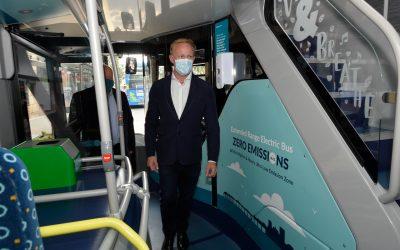 Tour of Hybrid bus manufacturer in Brighton