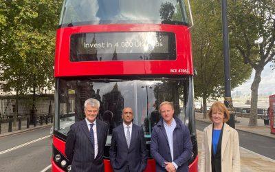 Zero emission buses